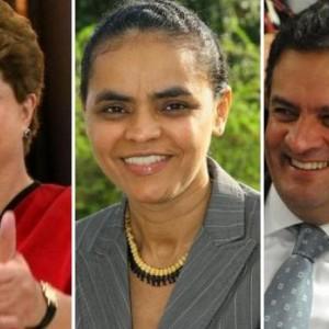 Pesquisa CNT aponta Dilma com 34,2%; Marina, 28,2%; e Aécio, 16%