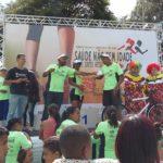 """Terceira Maratoninha do """"Projeto Saúde Não Tem Idade"""" atrai cerca de 1500 pessoas no Bairro Estrela Dalva em Contagem-MG"""