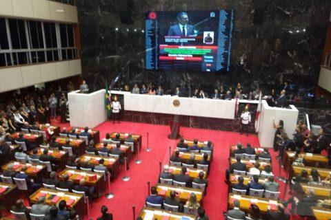 Posse dos parlamentares dá início à 19ª Legislatura em Minas Gerais