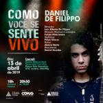 """Daniel De Filippo apresenta o show """"Como Você se Sente Vivo"""" em Ubá"""