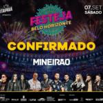 Confirmado: Festeja Belo Horizonte será realizado dentro do Mineirão