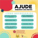 Campanha busca arrecadar ajuda para Ribeirão das Neves