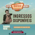 Nando Reis confirma show no DRIV.E Festival